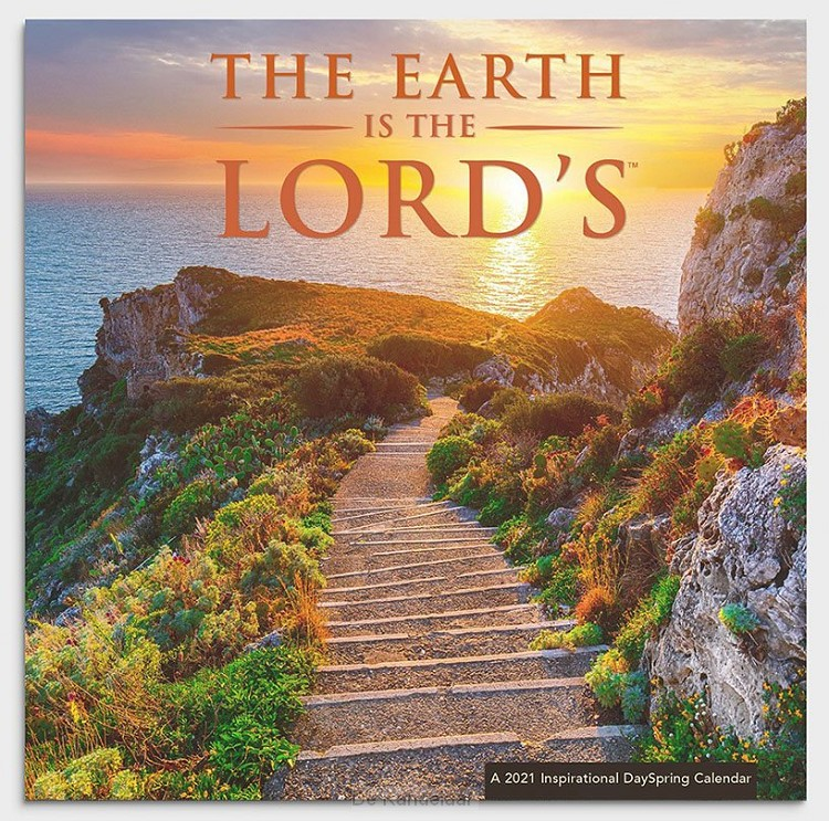 2021 Wall Calendar Earth is the Lord's