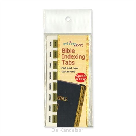 Bible tabs gold tabs