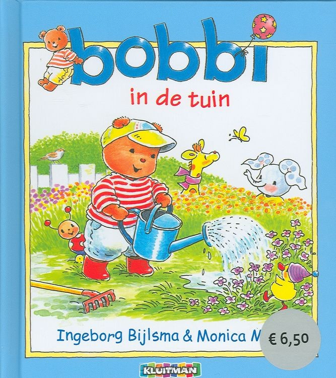 Bobbi in de tuin