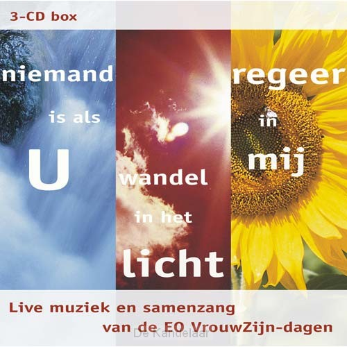 3-CD box Niemand / wandel / regeer